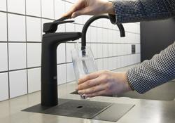 M Moser Associates - Billi Tap in Black Matt - chilled water